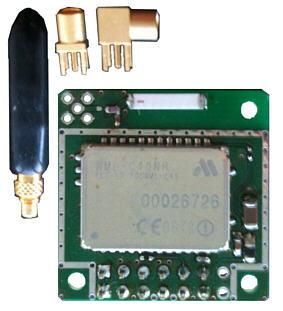 BlueSerial OEM Modul UART mit Keramikantenne und optionalen Antennen
